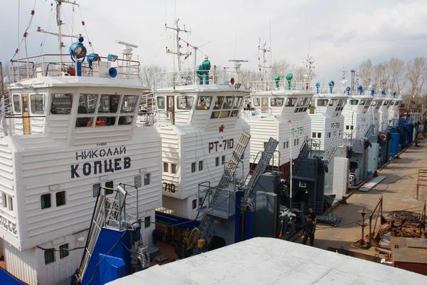 Суда Енисейского пароходства возвращаются к пунктам постоянной дислокации