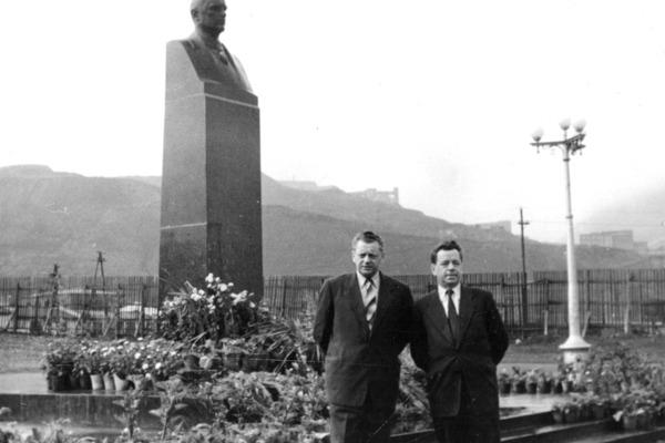 60 лет назад в Норильске открыли памятник Авраамию Завенягину