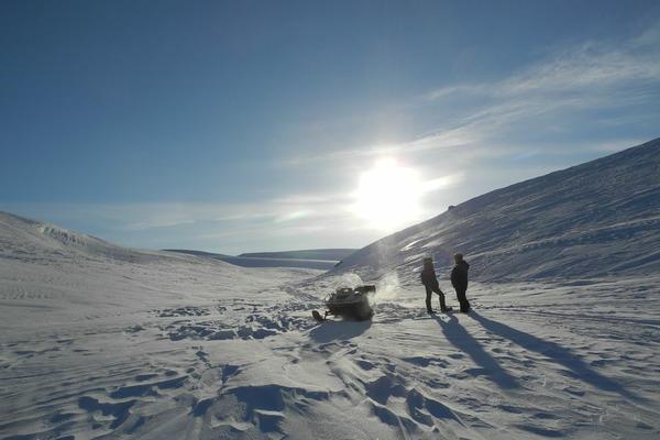 Границы в Арктике будут контролировать тяжелые дроны