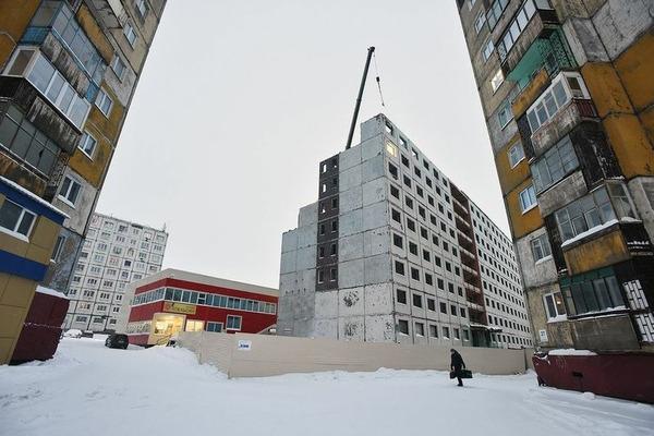 Полным ходом идет строительство трехзвездочного отеля в Норильске