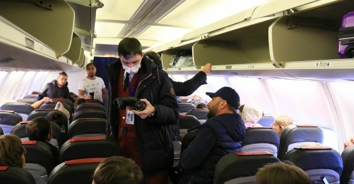 В аэропорту Красноярска усилен контроль за пассажирами из Китая