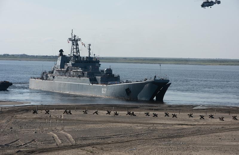 Межвидовые учения Северного флота
