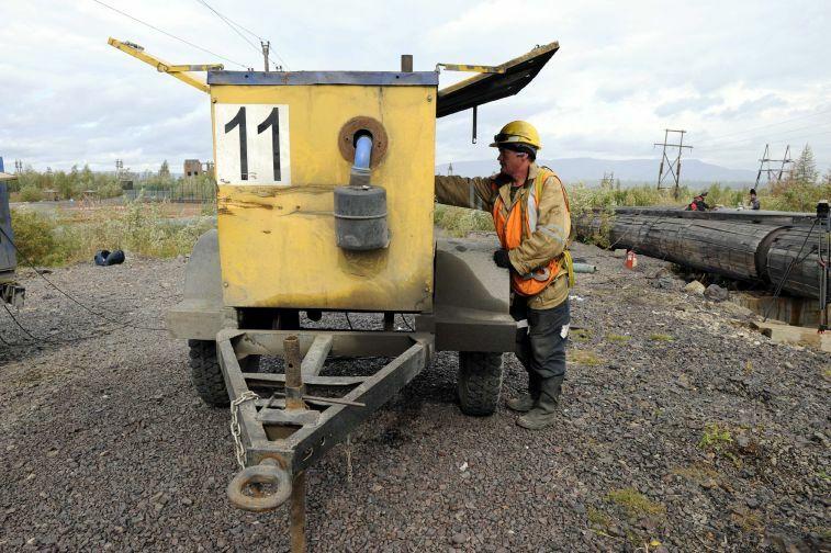 Сергей Липин: Норильско-Таймырская энергетическая компания готова к отопительному периоду уже на 85%