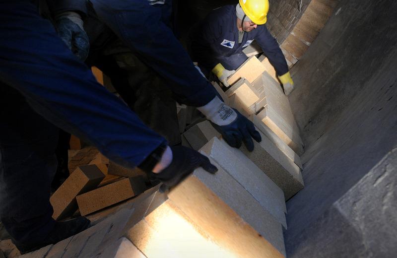 Клинкерная линия Цементного завода