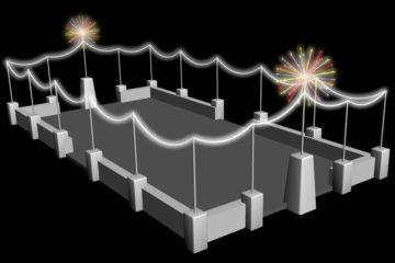 Открытие снежного городка на Театральной площади в Норильске назначено на 24 декабря