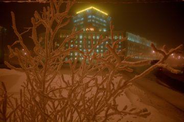 Новогодняя ночь в Норильске обещает быть морозной