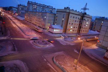 Норильские участковые проверили освещенность ряда городских улиц