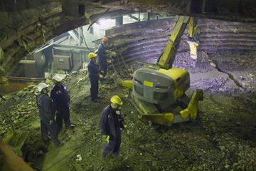 На Надеждинском металлургическом заводе начался капитальной ремонт обеднительной электропечи №3.