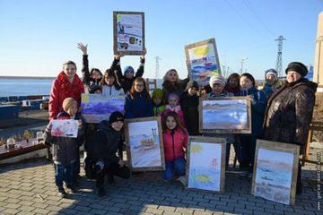 Торжественное закрытие экологического марафона прошло на берегу Енисея