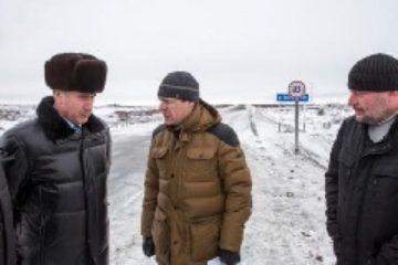 """Мост на федеральной трассе Дудинка – аэропорт """"Норильск"""" введен  в эксплуатацию после реконструкции"""