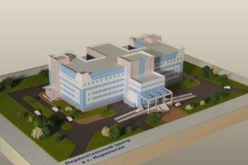 Министр здравоохранения Красноярского края Вадим Янин осмотрел площадку строительства перинатального центра в Норильске