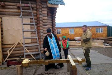 Возведение православного храма-часовни завершается в таймырском селе Караул