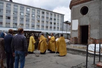 Храм, посвященный памяти сотрудников полиции, погибших при исполнении служебного долга, активно возводят в Норильске