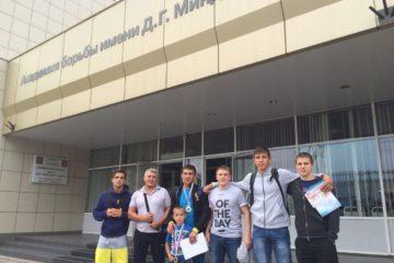 """Два """"золота"""" привезли норильчане с всероссийского юношеского турнира по вольной борьбе"""
