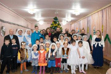 Норильское духовенство поздравило воспитанников Дудинского детского дома с наступающим Рождеством Христовым
