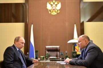 Владимир Путин обсудит с Владимиром Потаниным вопросы соцобеспечения жителей Норильска