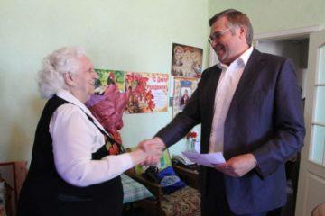 Президент России поздравил норильского ветерана с 90-летием