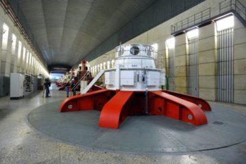 Третий замененный гидроагрегат торжественно запустили на Усть-Хантайской ГЭС