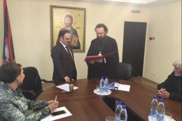 Норильская епархия и НГИИ договорились о сотрудничестве в сфере духовно-нравственного просвещения
