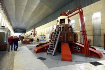 Третий замененный гидроагрегат готовятся запустить на Усть-Хантайской ГЭС