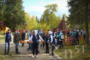 """Лучшие экомарафонцы """"Норникеля"""" встретились в Лапландском заповеднике"""