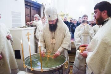 Православные норильчане отмечают Крещение Господне