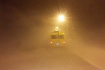 Вызволены все пассажиры двух автобусов, застрявших в снежном плену в Норильске