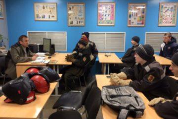 """Будущие норильские сварщики побывали на мастер-классе, организованном ЗФ """"Норникеля"""""""