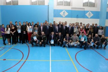 Торжественное закрытие 19-ой спартакиады газовиков состоялось в Норильске