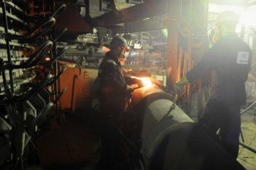 Капремонт трубопроводов системы охлаждения обеднительной электропечи №1 завершился на НМЗ