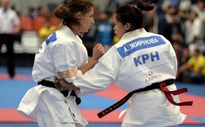 Норильчанка Анастасия Жирнова привезла золотую медаль с чемпионата России по киокусинкай-карате