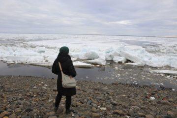 Кромка льда на Енисее находится в 831 км от Дудинки