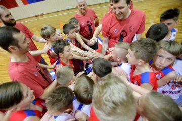ЦСКА открыл по инициативе «Норникеля» баскетбольный кэмп для детей – CSKA juNior