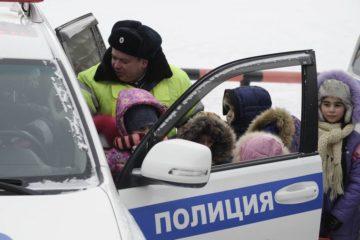 Норильские полицейские взяли на особый контроль безопасность детей на дорогах