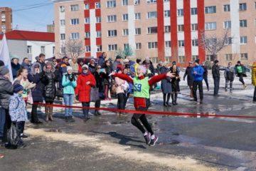 В Дудинке прошли легкоатлетические эстафеты, посвященные Дню Победы