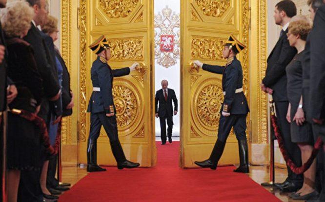 В Кремле проходит инаугурация Владимира Путина