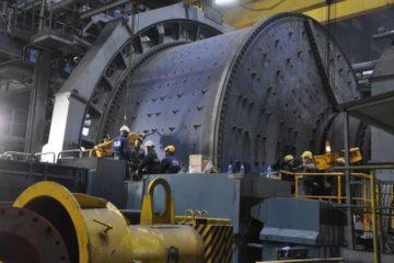 На Талнахской обогатительной фабрике досрочно завершили крупный ремонт шаровой мельницы