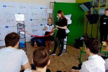 """В талнахской школе №20 при поддержке """"Норникеля"""" открылась школа-интенсив TVLab"""