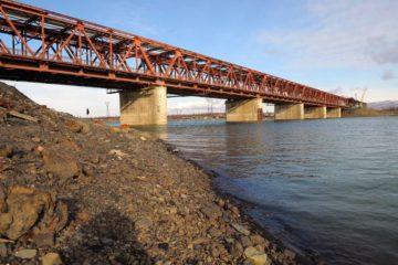 Специалисты пока затрудняются назвать точное время ледохода на реке Норильской