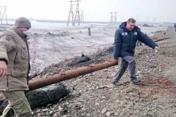"""""""Норникель"""" продолжает работы по очистке прилегающей к НМЗ территории"""