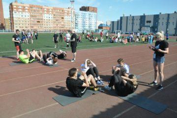 Норильские тошевцы приняли участие в соревнованиях по кроссфиту