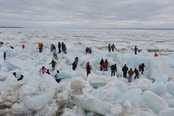 Кромка льда находится в 200–250 км от Дудинки