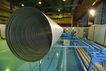 В Норильске появилась линия по изготовлению  воздуховодов из оцинкованной стали