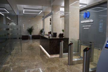 Фойе управления Заполярного филиала приобрело новый облик
