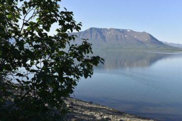 Волонтеры Норильска побывали в двухдневном экологическом туре на озере Лама