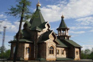 Прихожане храма в Талнахе встретились с Патриархом Кириллом