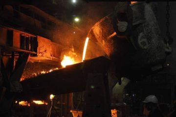 На медном заводе завершился ремонт одной из четырех анодных печей