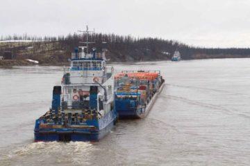 Енисейское пароходство признано ведущей организацией транспорта России по итогам 2018 года