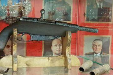 """В музее боевой славы норильского """"Боевого братства"""" появился новый экспонат"""