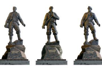 Норильчанам предложат выбрать вариант эскизного проекта скульптуры «Горняк»